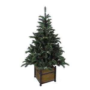 Home Accents Holiday 4 Ft Pre Lit Noble Artificial