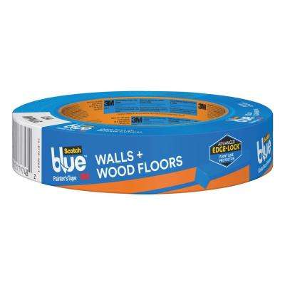 ScotchBlue 0.94 in. x 60 yds. Walls and Wood Floors Painter's Tape with Edge-Lock (Case of 36)