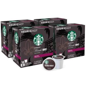 Starbucks French Roast K-Cups (64-Counts)