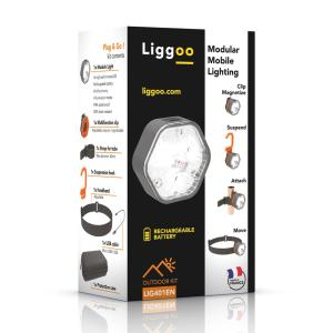 Liggoo Outdoor Multi-Purpose Freehand Rechargeable Lighting Kit by Liggoo