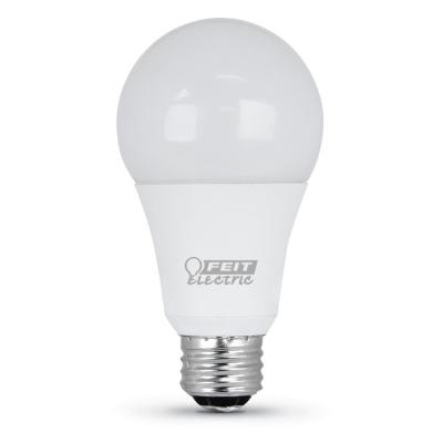 50/100/150-Watt Equivalent Soft White (2700K) A21 CEC Title 24 Compliant LED 3-Way 90+ CRI Light Bulb