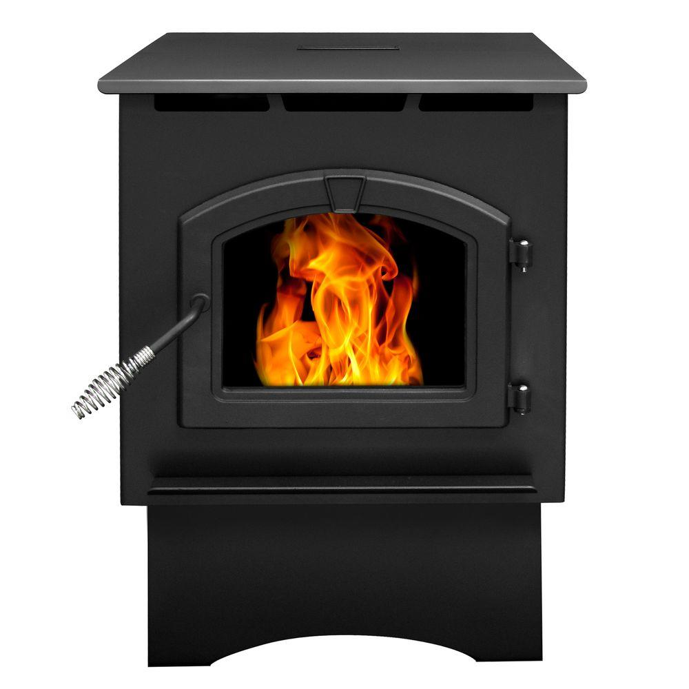 Pleasant Hearth 1,750 sq. ft. Pellet Stove with 40 lbs. Hopper and Auto Ignition