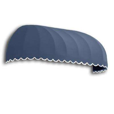 14 ft. Chicago Window/Entry Awning (31 in. H x 24 in. D) in Dusty Blue