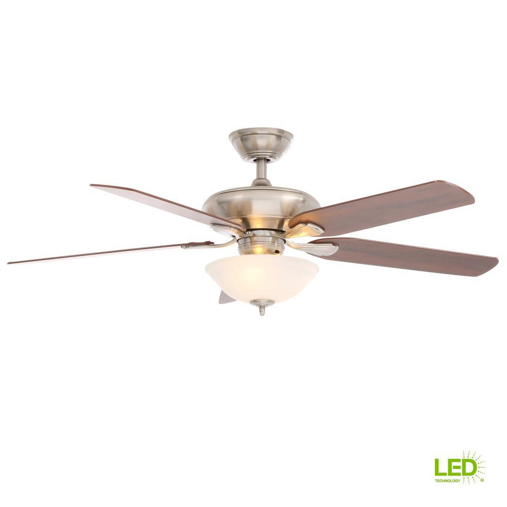 Home Decorators Collection Merwry 52 In Integrated Led