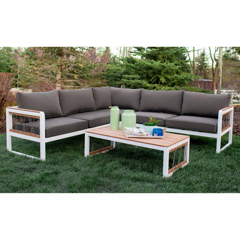 Metal Outdoor Sofa Metal Patio Furniture Pottery Barn