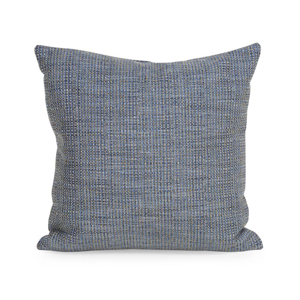 Coco Blue Sapphire 16 in. x 16 in. Decorative Pillow