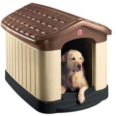 32 in. x 45 in. x 32.5 in. Tuff-n-Rugged Dog House