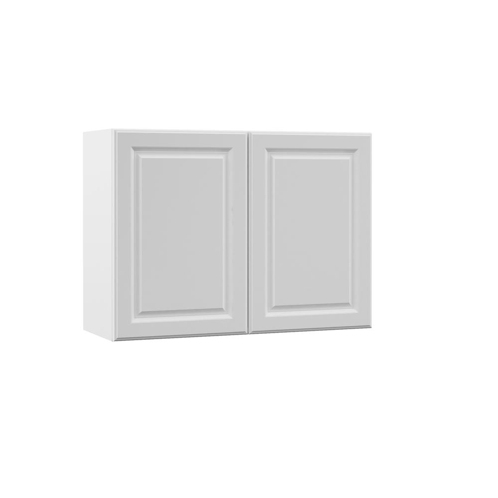 Elgin Assembled 33x24x12 in. Wall Kitchen Cabinet in White