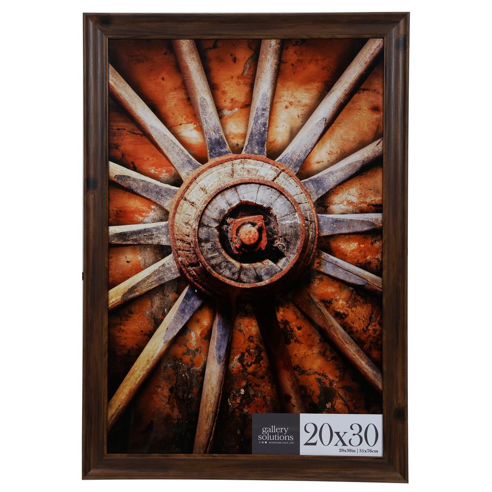 Pinnacle 20 in. x 30 in. Brown Poster Picture Frame-16FP2209 - The ...