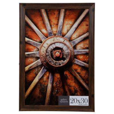 20 in. x 30 in. Brown Poster Picture Frame