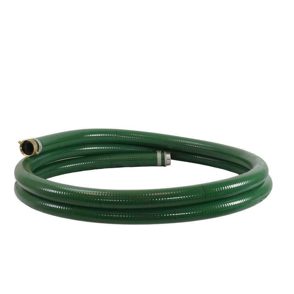 2 in. x 20 ft. Water Pump Suction Hose