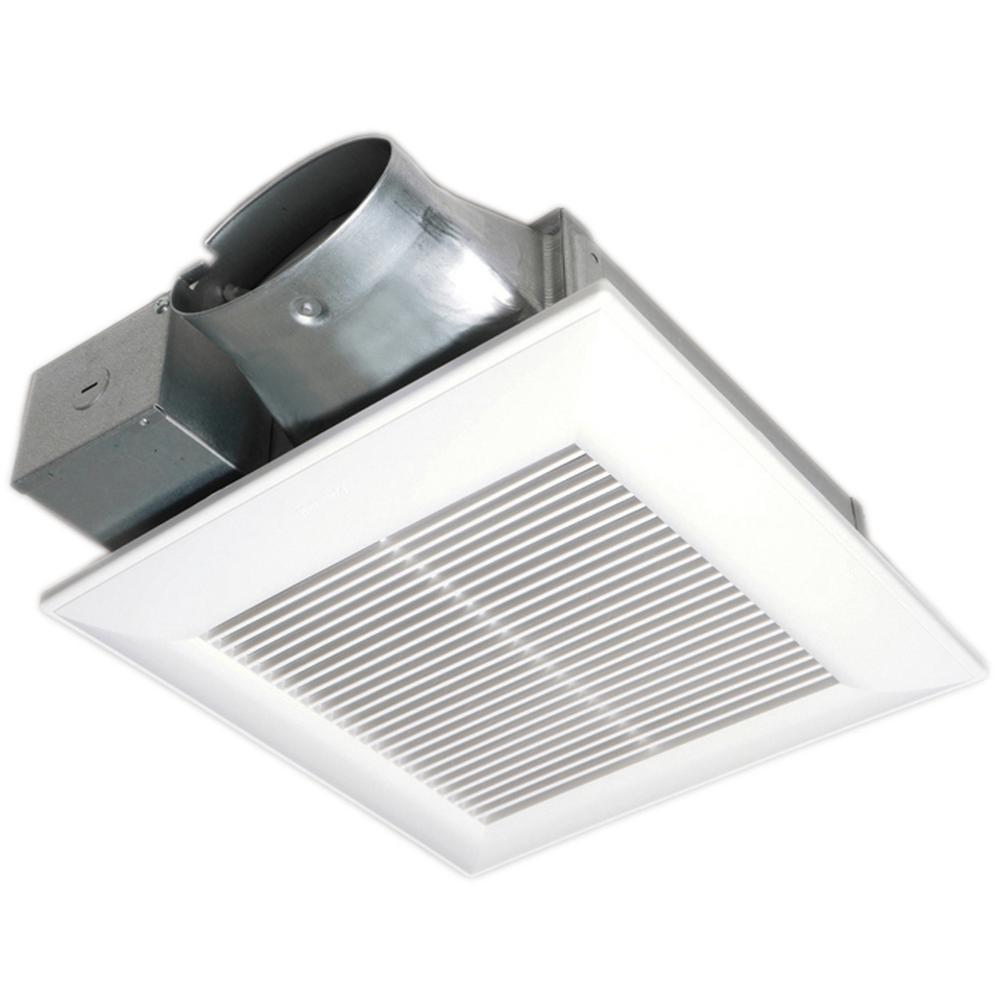 Panasonic whispervalue dc pick a flow 50 80 or 100 cfm - Panasonic bathroom ventilation fans ...
