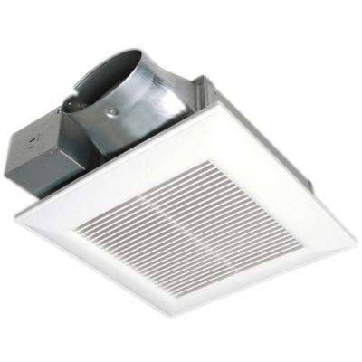 WhisperValue DC Pick-A-Flow 50, 80 or 100 CFM Ceiling or Wall Super Low Profile Exhaust Fan Energy Star