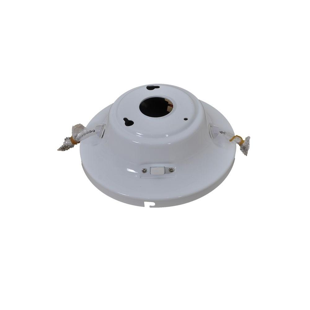 Four Winds 54 in. White Ceiling Fan Replacement Switch Cup