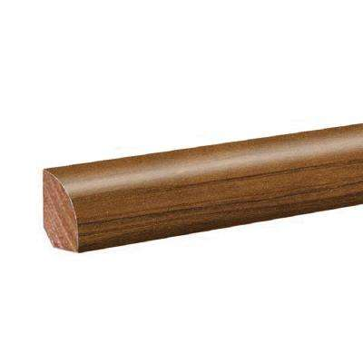 Antique Cherry 0.62 in. Thick x 0.75 in. Wide x 94.5 in. Length Laminate Quarter Round Molding