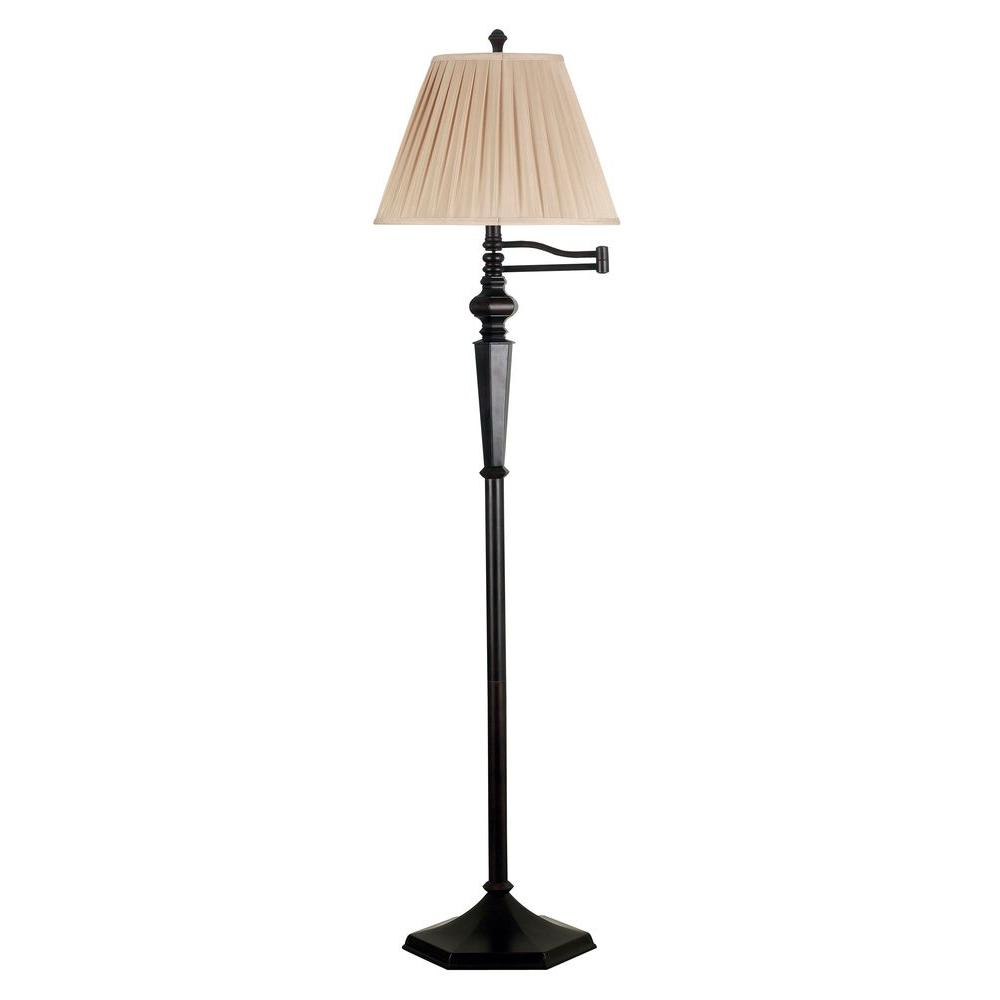 High Quality Kenroy Home Chesapeake 61 In. Oil Rubbed Bronze Swing Arm Floor Lamp