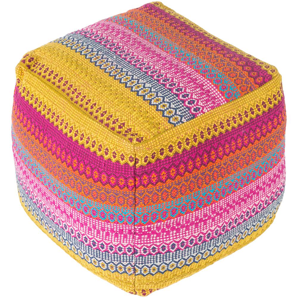 Artistic Weavers Ximeno Yellow Accent Pouf