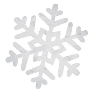Amscan 16 in  Paper Snowflake Fan Decorating Kit (3-Count, 2