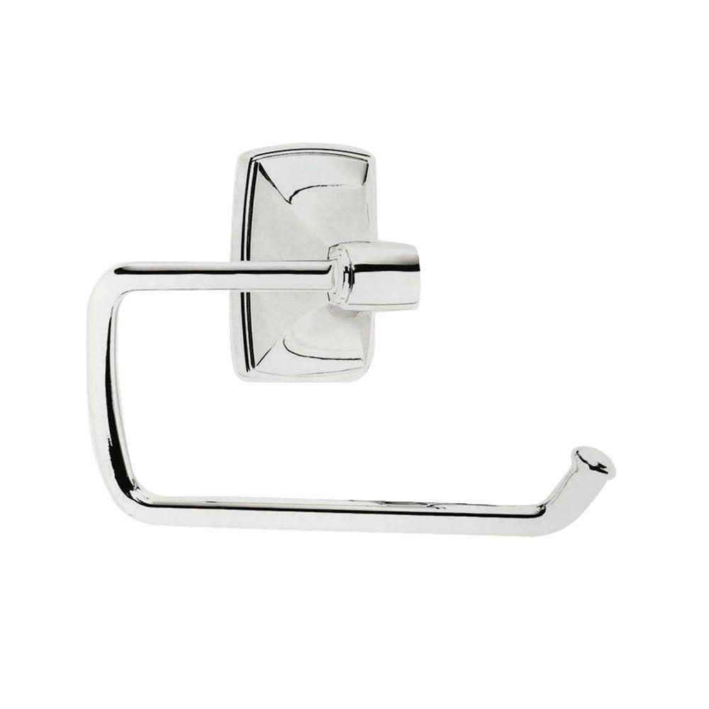 Amerock Clarendon Tissue Roll Holder in Polished Chrome