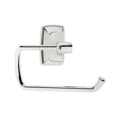 Clarendon Tissue Roll Holder in Polished Chrome