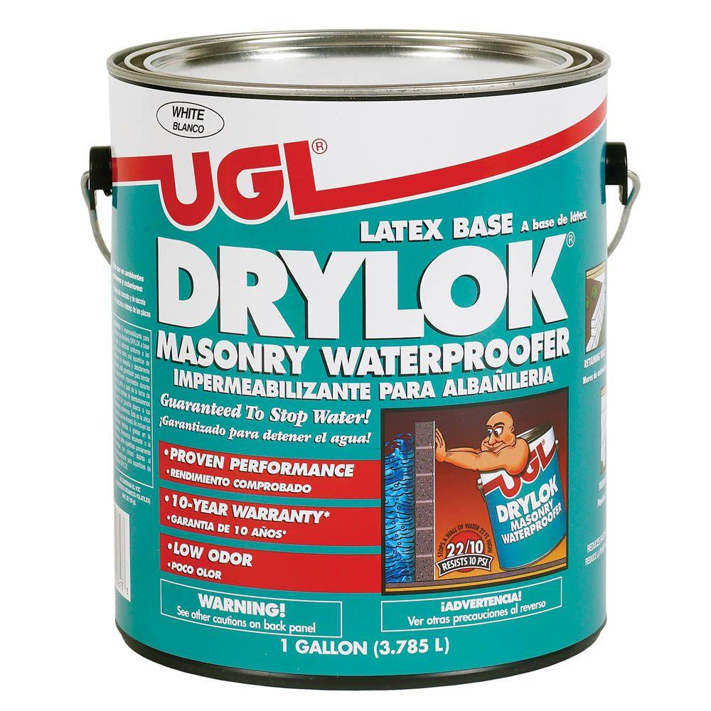 Drylok 1 Gal White Masonry Waterproofer 27513 The Home