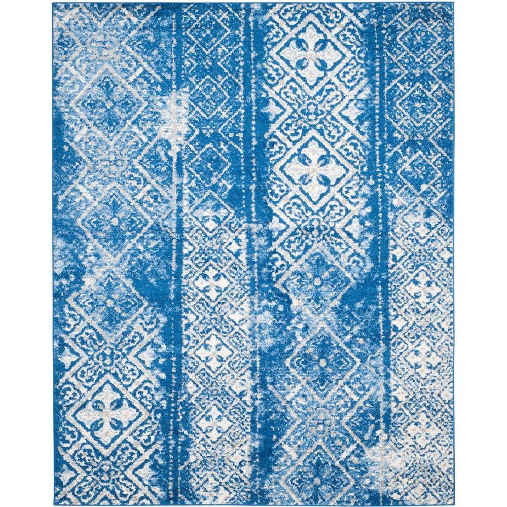 Safavieh Adirondack Silver Blue 9 Ft X 12 Ft Area Rug