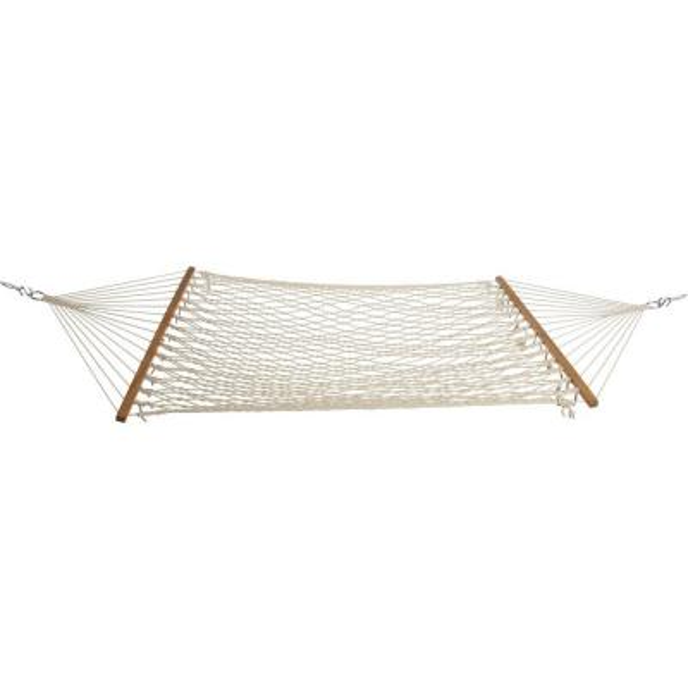 12 ft. Single Original Cotton Rope Hammock White