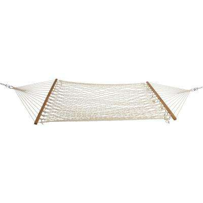 12 ft. Single Original Cotton Rope Hammock White