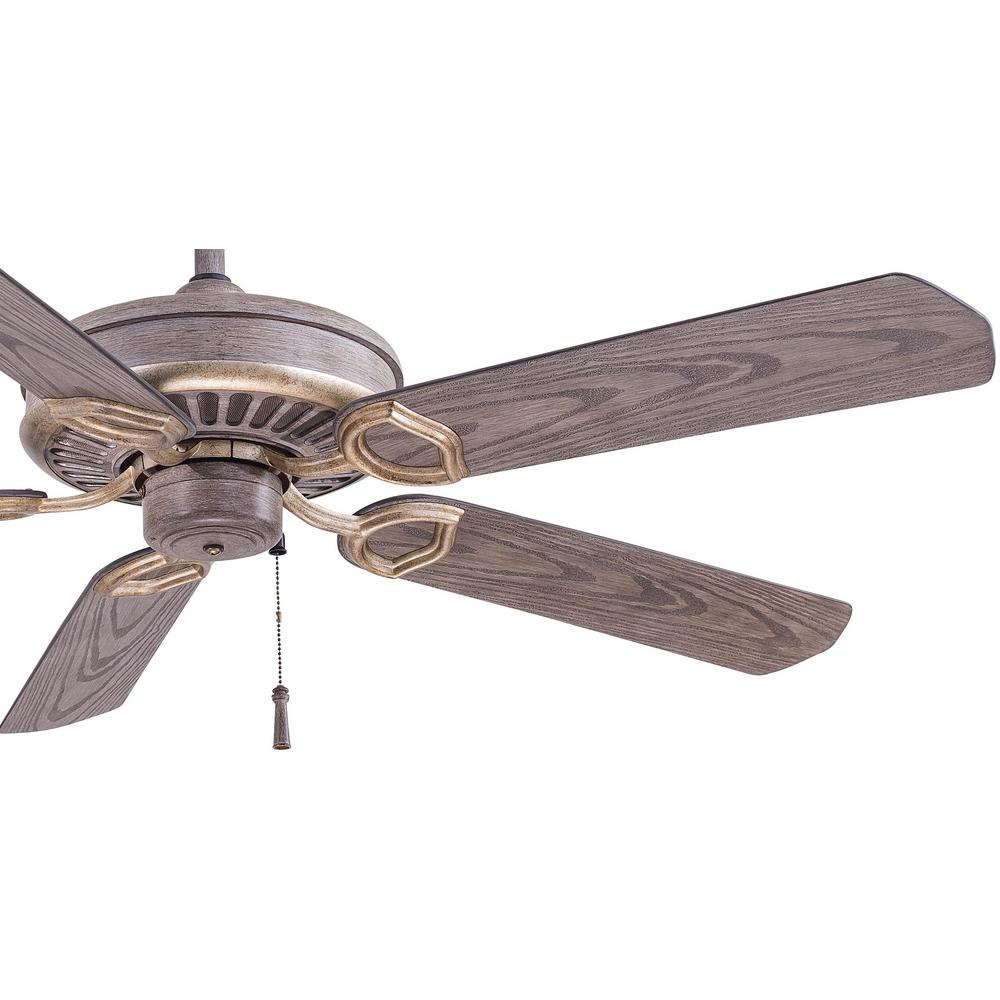 Indoor Outdoor Driftwood Ceiling Fan