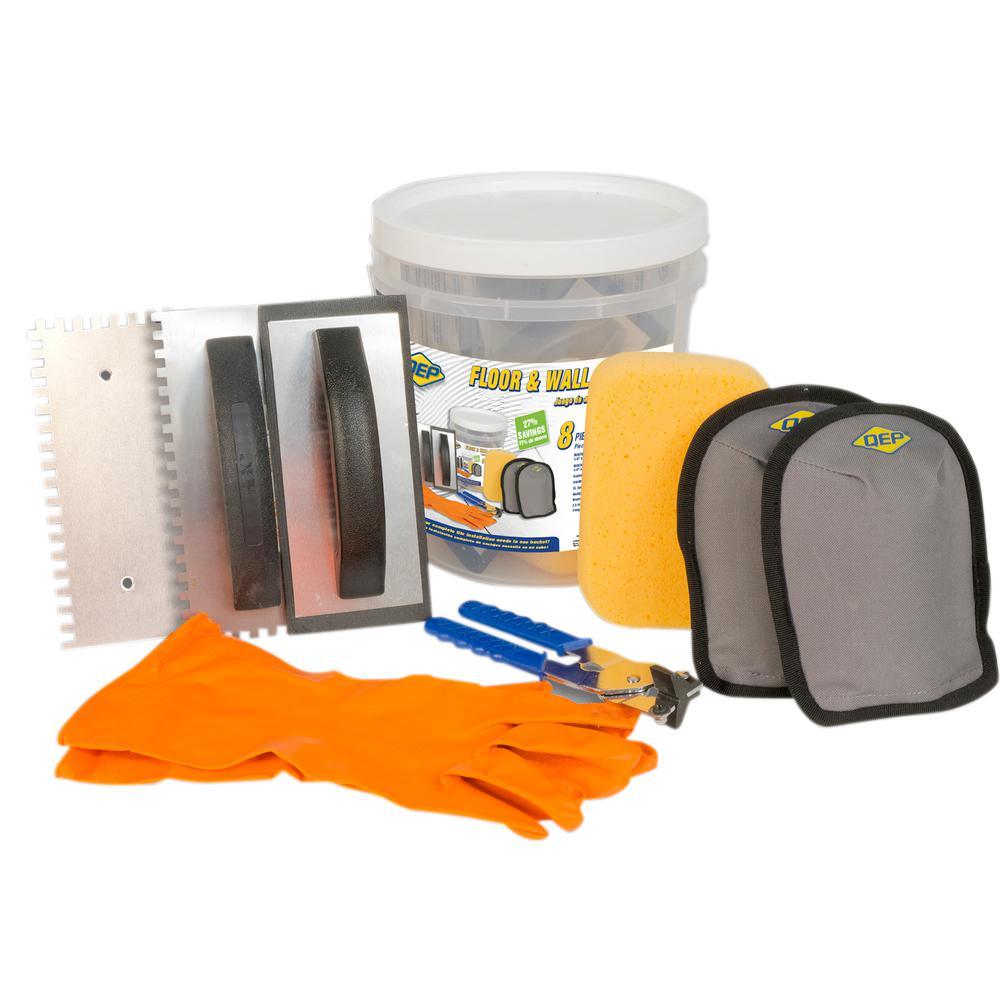 Tile Installation Bucket Kit