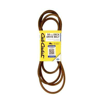 50 in. Deck Drive Belt for Select Rzt Mowers