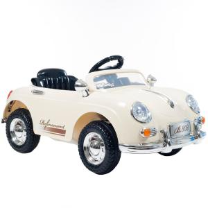 Lil Rider Battery Powered Ride on Toy Classic Sports Car in Cream-W410030 -  The Home Depot
