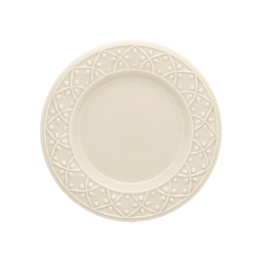 Manhattan Comfort 7.87 in. Mendi Ivory Salad Plates (Set of 6) was $69.99 now $36.34 (48.0% off)
