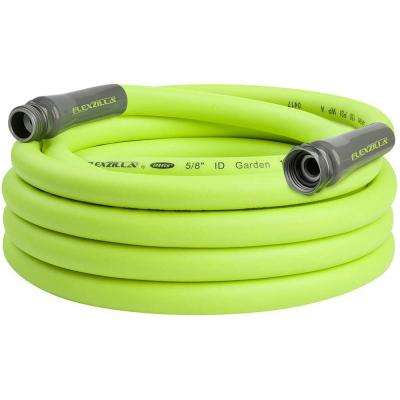 5/8 in. x 25 ft., 3/4 in. - 11-1/2 GHT Fittings Garden Hose