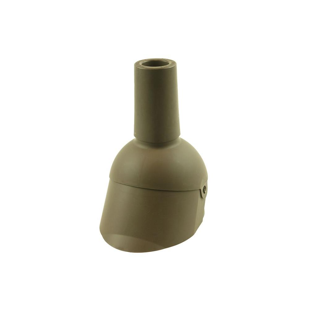 Perma-Boot Pipe Boot Repair for 2 in. I.D. Vent Pipe Brown Color