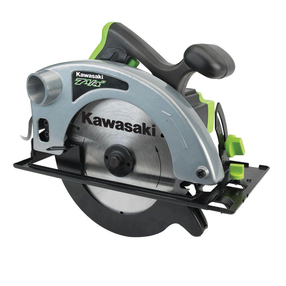 Kawasaki 10-Amp 7-1/4 in. Circular Saw