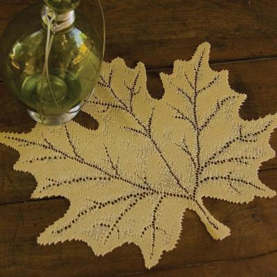 Leaf Maple 14 in. x 15 in. Golden Rod Placemat (Set of 4)