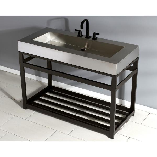 Kingston Br 49 In W Bath Vanity Oil Rubbed Bronze With