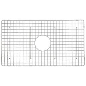 Rohl Allia 26 1 4 In X 15 1 4 In Wire Sink Grid For 6307 Kitchen Sinks Wsg6307wh The Home Depot