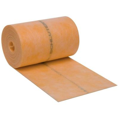 Kerdi-Band 5 in. x 32 ft. 10 in. x 4 mil Underlayment Waterproofing Strip
