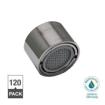 1.0 GPM Tamperproof Female Thread Bubble Spray Faucet Aerator (120-Pack)