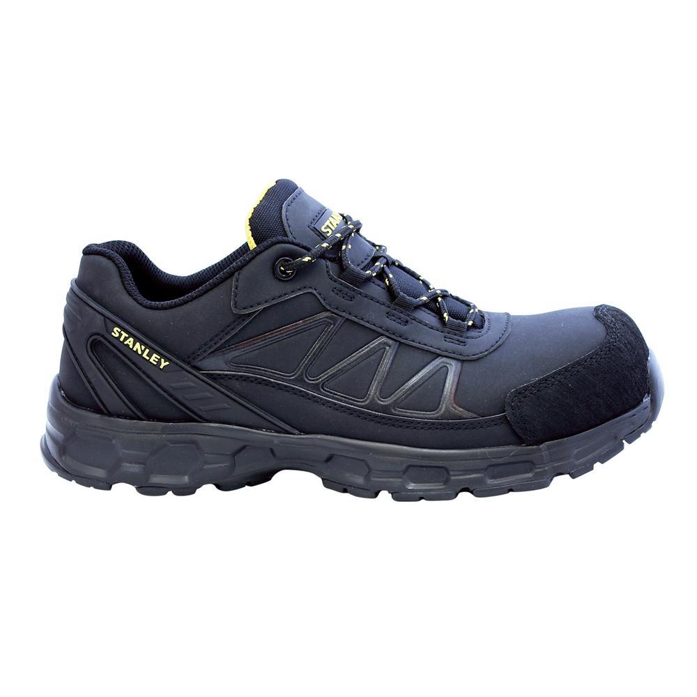 Laser Men's Size 12 Black Microfiber Composite Toe Static Dissipative Work Shoe