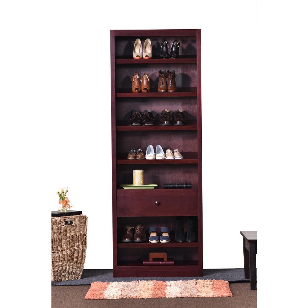 Cherry Storage Bookcase
