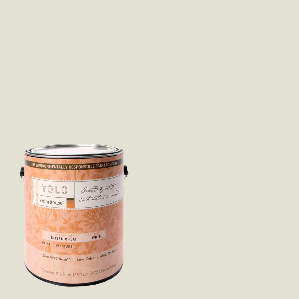 YOLO Colorhouse 1-gal. Bisque .03 Flat Interior Paint-DISCONTINUED