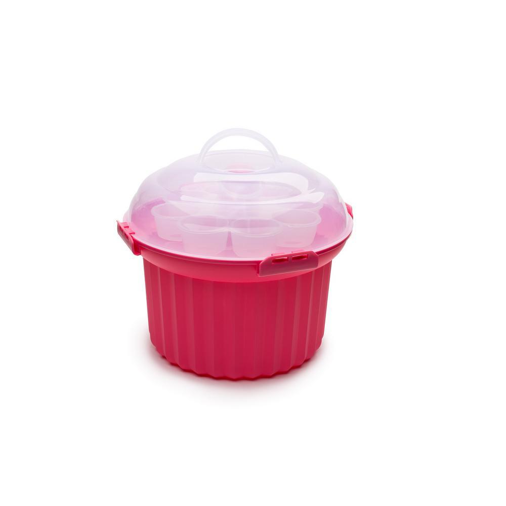 Pink Cup Cake Carousel