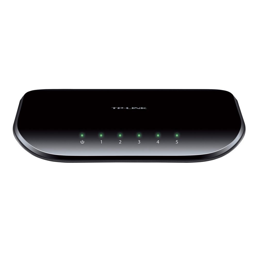 Brand New Netgear GS605NA 5-Port Gigabit Ethernet Desktop Switch 10//100//1000mbps