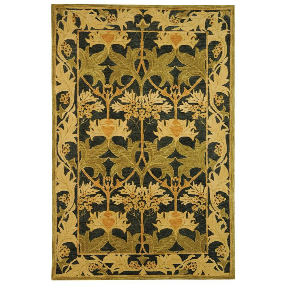 Anatolia Navy/Sage 9 ft. 6 in. x 13 ft. 6 in.