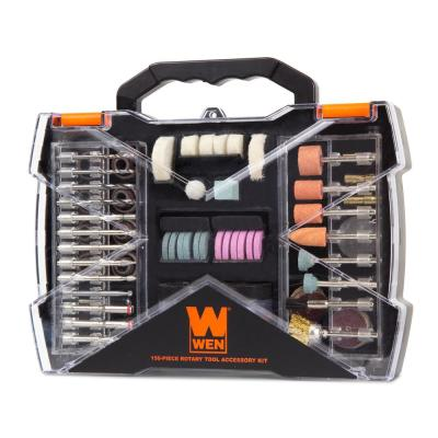 Rotary Tool Accessory Kit with Carrying Case (150-Piece)