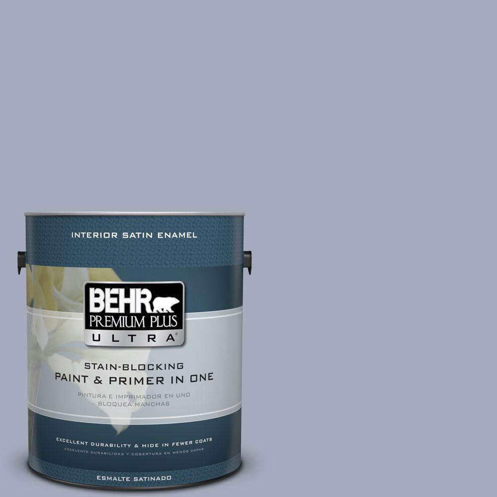 BEHR Premium Plus Ultra 1-gal. #610F-5 Ridge View Satin Enamel Interior Paint