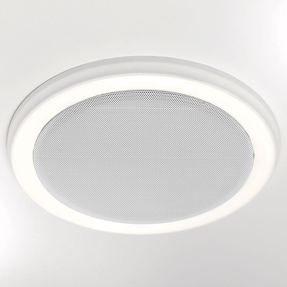 Swell Details About Bluetooth Speaker Bath Fan Led Light Exhaust Ventilation 100 Cfm Decor Remote Best Image Libraries Sapebelowcountryjoecom